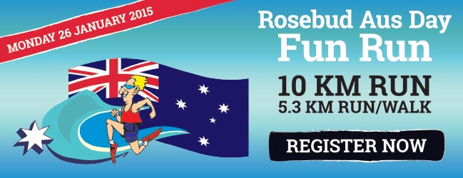 Australia Day Fun Run Register Now