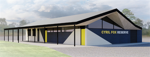 Concept elevation for expansion of existing juniour sports pavilion.png