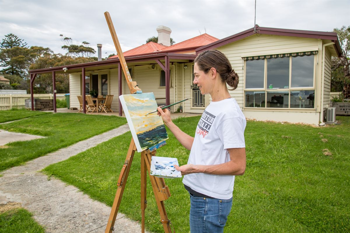 Police Point Artist In Residence Program Mornington Peninsula Shire