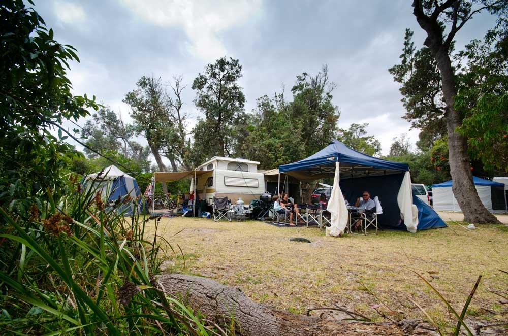 Shoreham camping